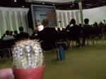 Der Kaktus auf einem Kongress