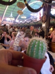 Der Kaktus auf der Wiesn (Oktoberfest in München)